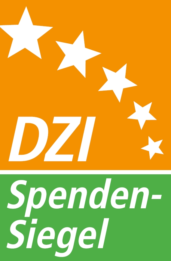 Tested and recommended by the German Central Institute for Social Issues (DZI).