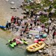 Day 23 – Protest on the Valbona river in Albania – local initiatives and international organisations for a free flowing Valbona © Jan Pirnat